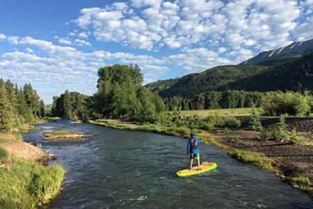SUPing in Telluride