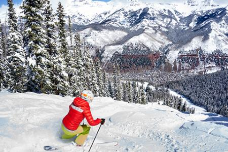 Skiing and Snowboarding in Telluride