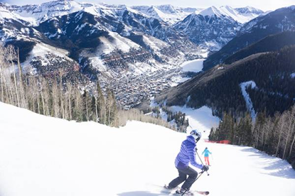 Terrain at the Telluride Ski Resort