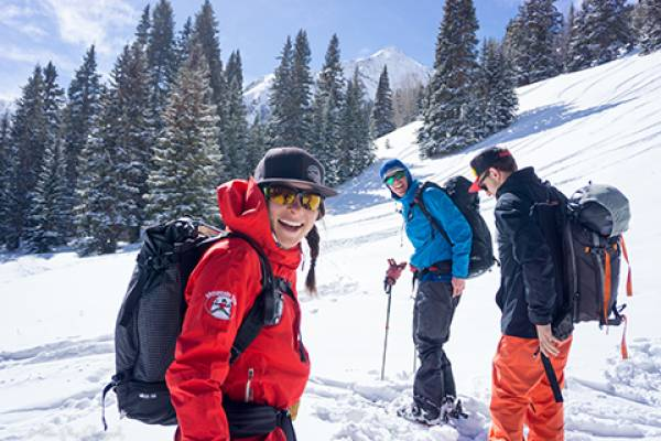 Backcountry Skiing in Telluride