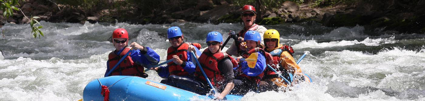 Whitewater Rafting in Telluride