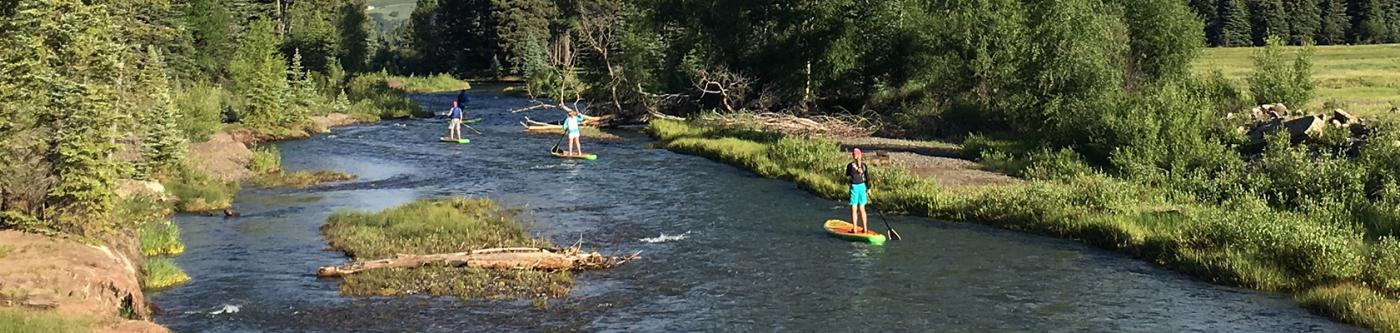 Stand-Up Paddleboarding in Telluride